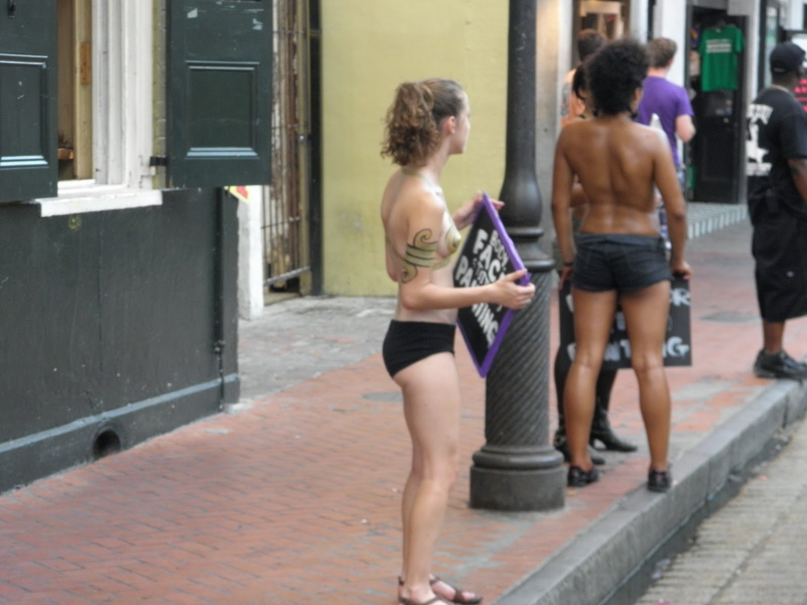 New orleans bourbon street stripper cams
