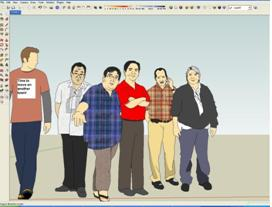 add people in SketchUp