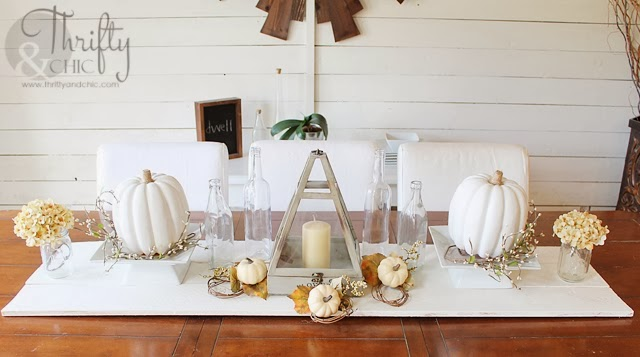 http://www.thriftyandchic.com/2013/11/fall-tablescape-and-dining-room.html