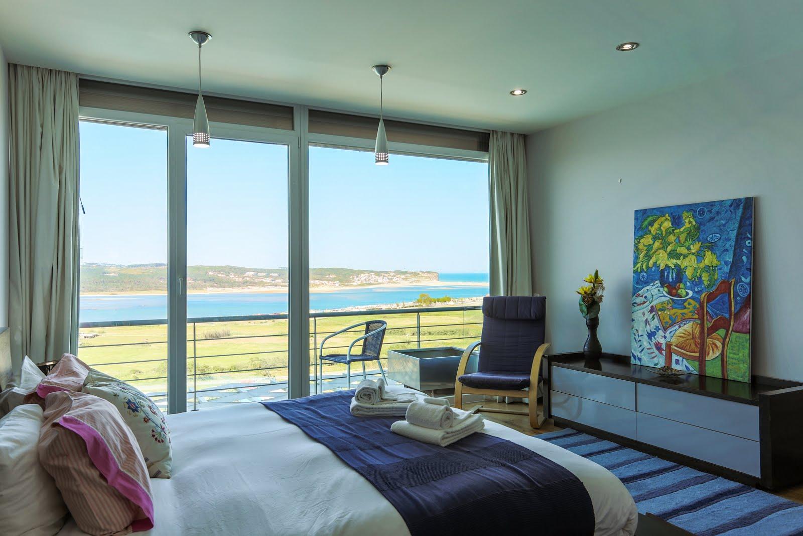 Master bedroom, balcony