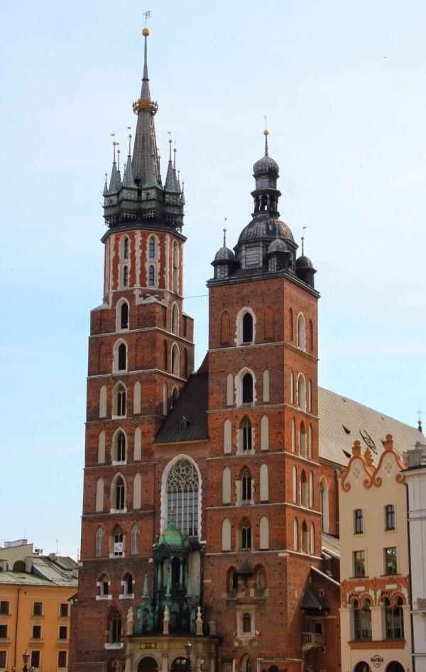 Kraków Bazylika Mariacka