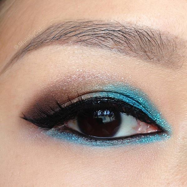Style By Cat Eotd Smokey Teal