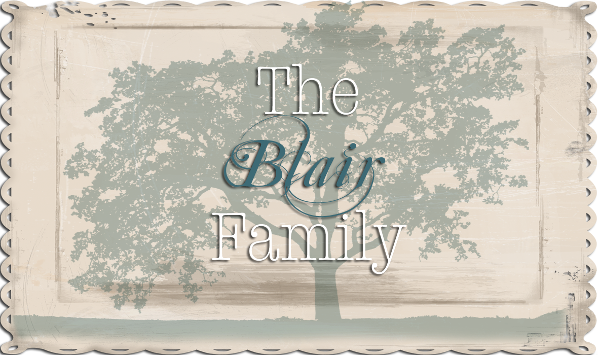 Blair Family Blog