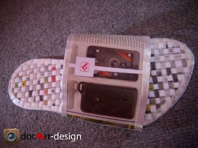 Sandal Kertas Daur Ulang 2