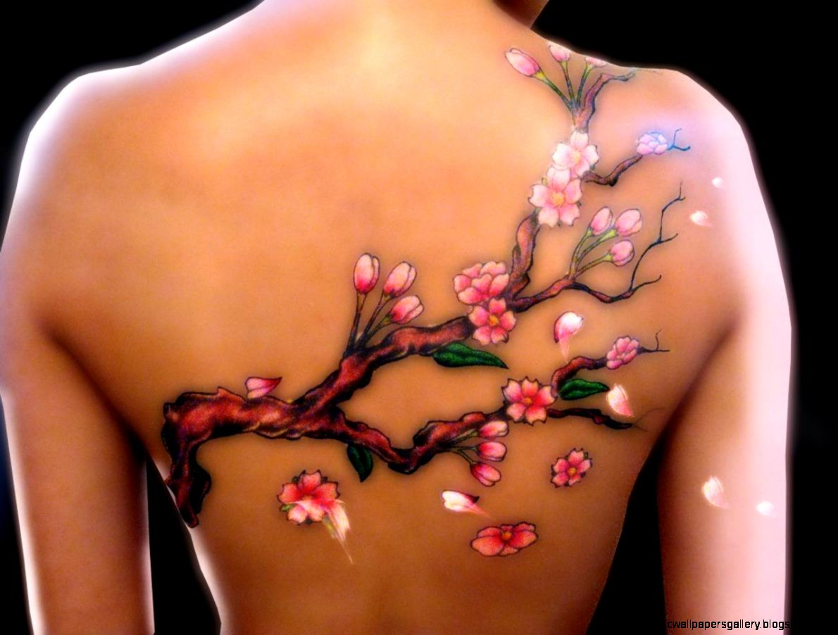 Panda And Grey Bamboo Tree Tattoos For Women   Tattoes Idea 2015