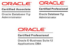 My Oracle Certifications
