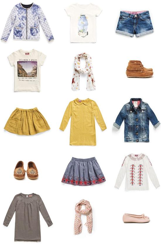 Selección Mango Kids pequeña fashionista