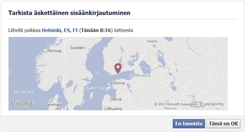 facebook kirjautuminen Kauhajoki