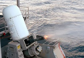 Phalanx CIWS 20mm Gatling