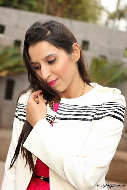 style striped blazer online