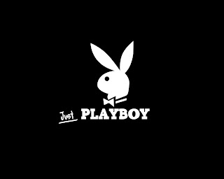 Playboy Bunny Logo Black and White