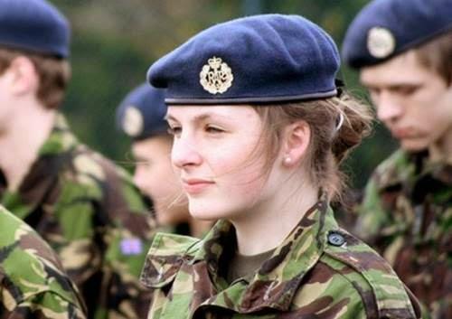 Wanita Militer Paling Cantik Di Dunia