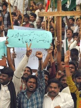Blasphemy allegations lead to protests