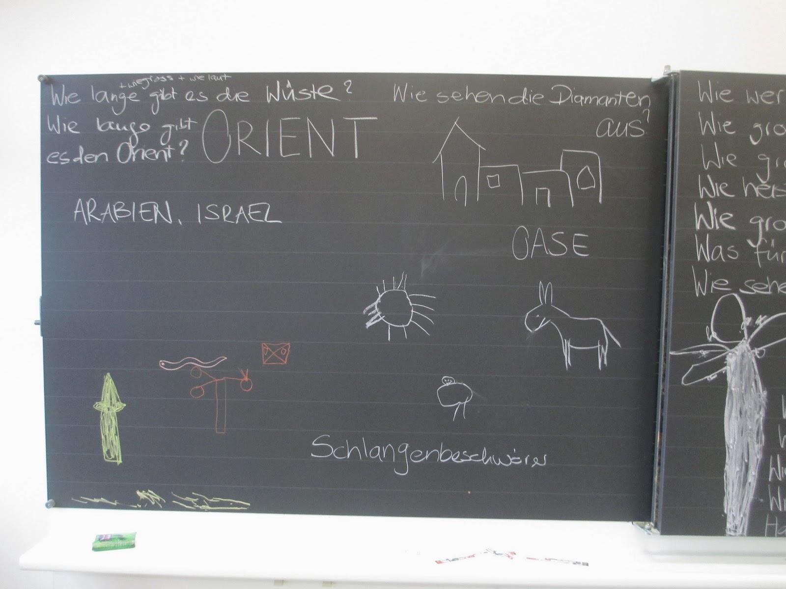 orientalische Kinderfragen