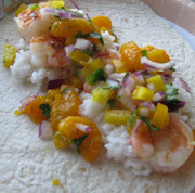 I had seen a recipe for fish tacos with mandarin orange salsa. (img )
