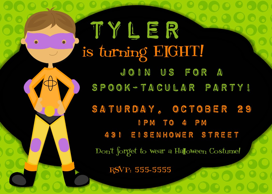 Bear River Photo Greetings: Halloween Party Invitations