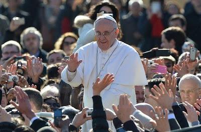 Llega del papa Francisco a la Basílica de San Pedro