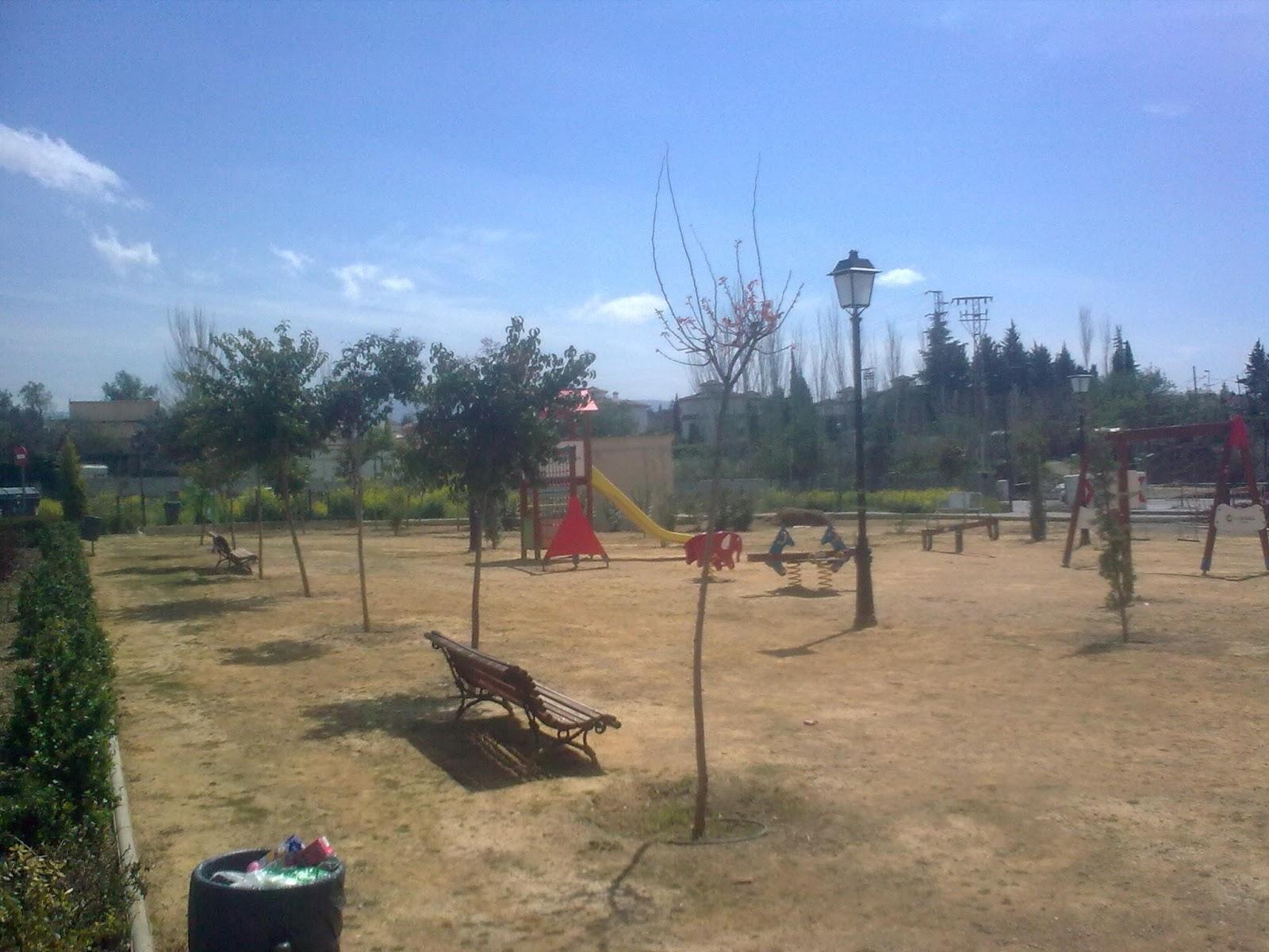 Parques y jardines de ogijares arreglo parque jutiliana for Arreglos de parques y jardines