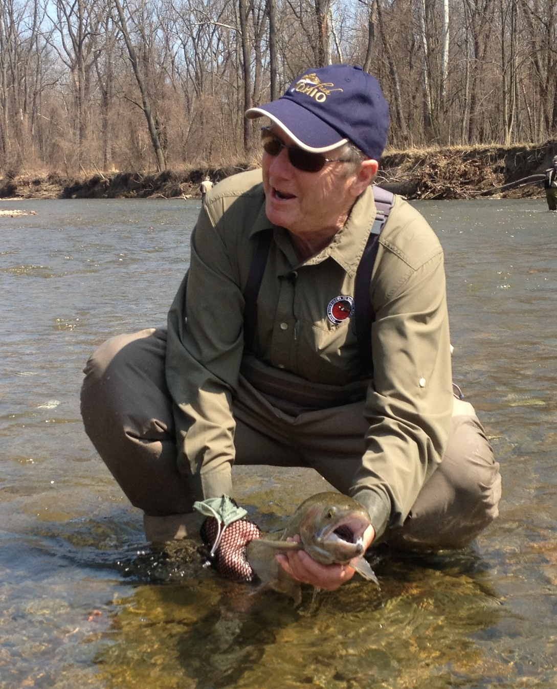Lake metroparks fishing report first class steelhead fishing for Ohio river fishing report