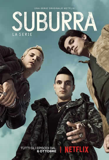 Suburra: Sangue em Roma 1ª Temporada Torrent – WEB-DL 720p Dual Áudio