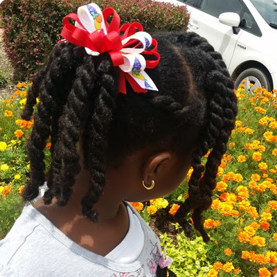 The Perfect Twist for Your Natural Hair Child