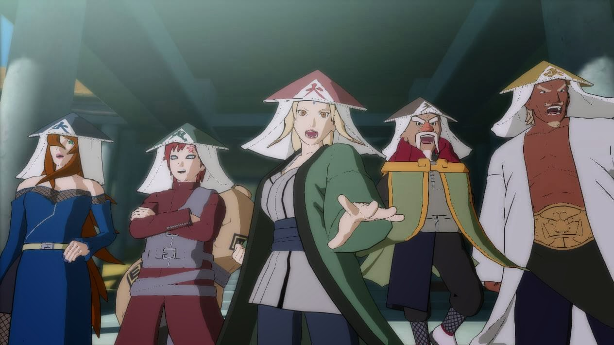 Kages in Storm Revolution Ninja World Tournament