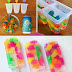 DIY Creative Gummy Bear Popsicles