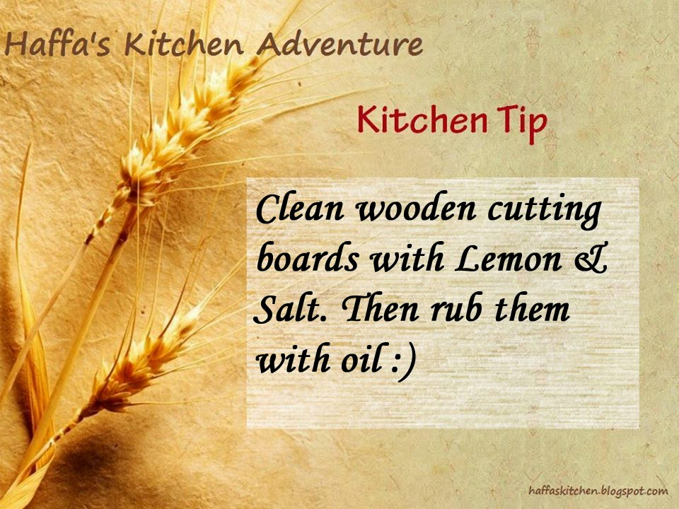 Kitchen tips|cutting board clean|How to clean wooden cutting boards?