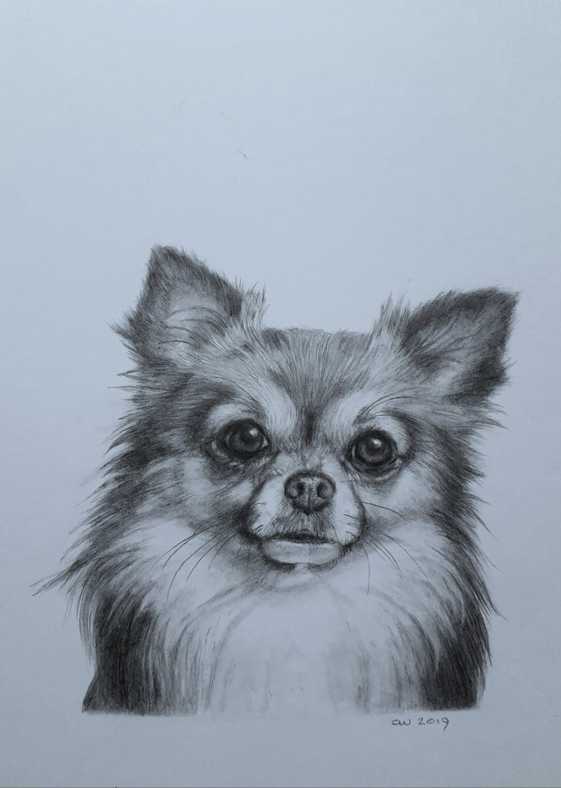 klein portretje van Pepper