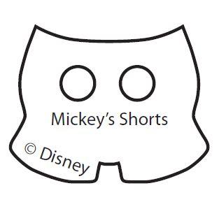 El Molde De Los Shorts De Mickey  Haz Click Aqu   Para Descargar La