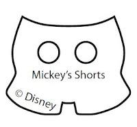 El molde de los shorts de Mickey. Haz click aquí para descargar la