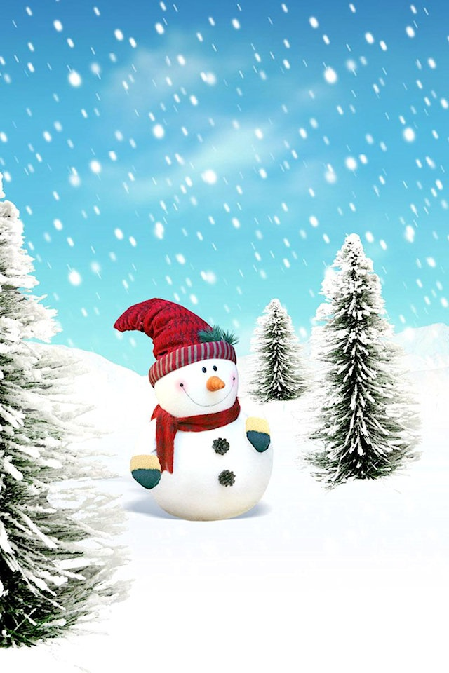 Christmas Iphone 4 Wallpaper hd gallery