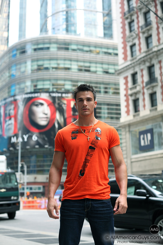 Picture About New AAG Male Model Phil Fusco