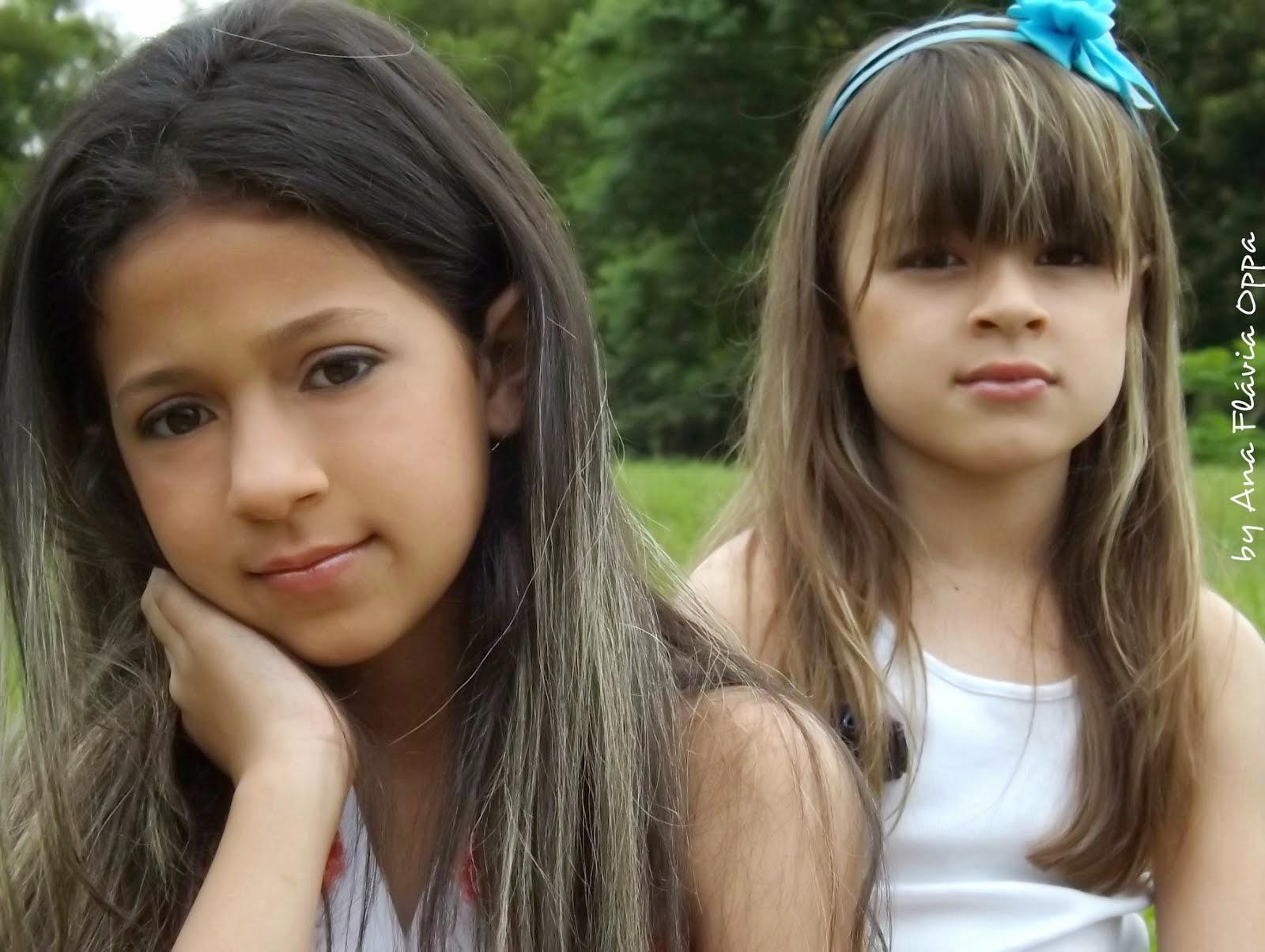 Ana Clara e Isabella Oppa