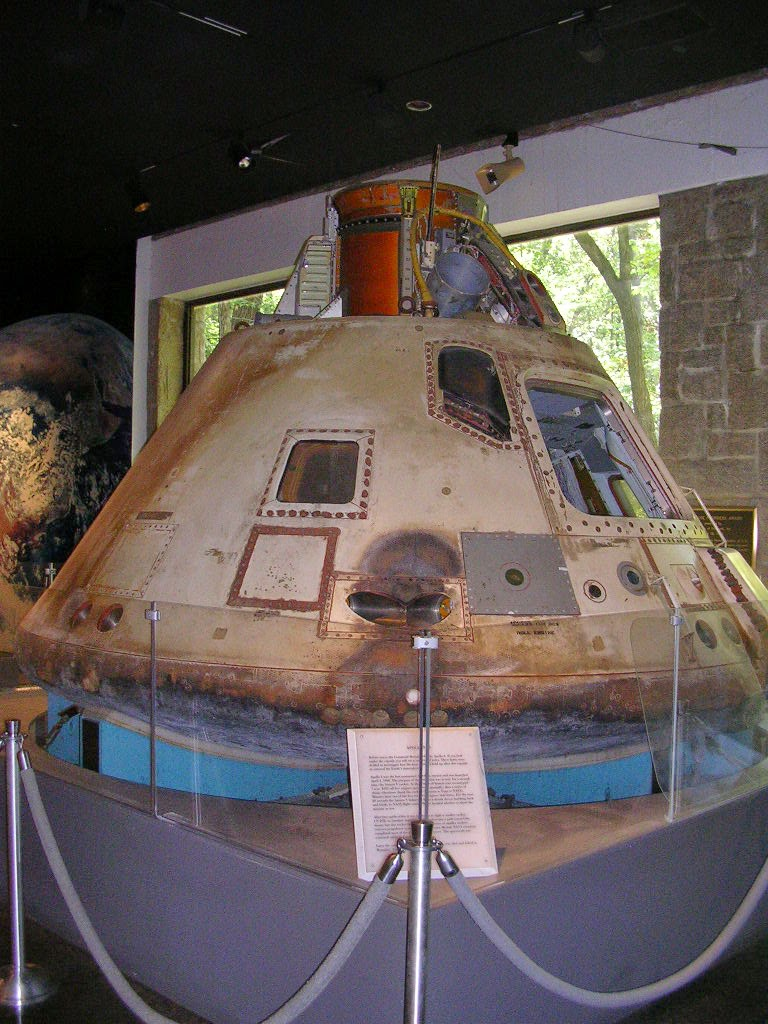 Módulo de comando del Apolo 6.