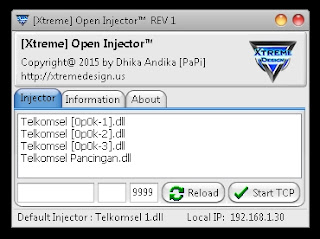 Inject Telkomsel Xtreme Open Injector REV 1 31 Oktober 2015