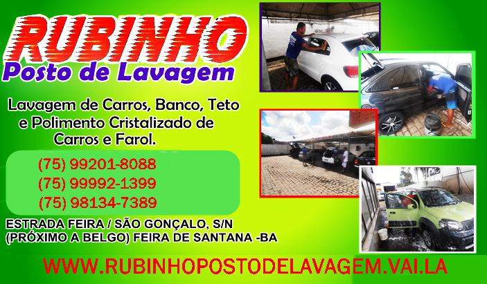 RUBINHO POSTO DE LAVAGEM