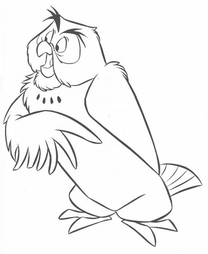 owl coloring pages free printable pictures coloring pages for kids