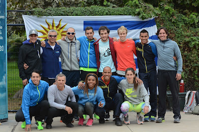 Selección uruguaya de atletismo a Juegos Panamericanos de Toronto (Canadá, 21a25/jul/2015)