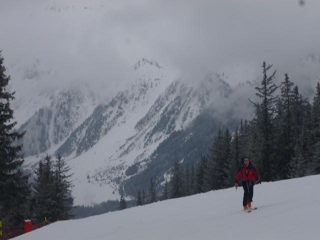 Esqui de travesia:Pralognan-La Vanoise