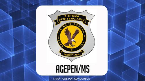 Agepen - MS abre concurso mais de 430 vagas