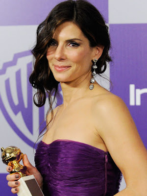 Sandra Bullock Sterling Dangle Earrings