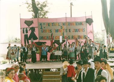 I Festival Internacional Grupos Infantis e Juvenis de Danças e Cantares Regionais [1991]