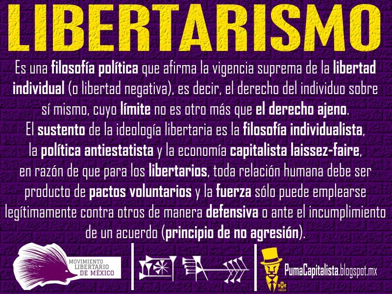 PARTIDO CAPITALISTA LIBERTARIO,  votarias por el? Libertarismo