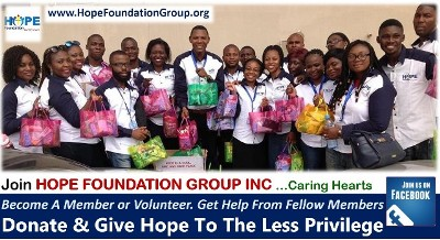 SPONSORED POST: Join Hope Foundation Group Inc