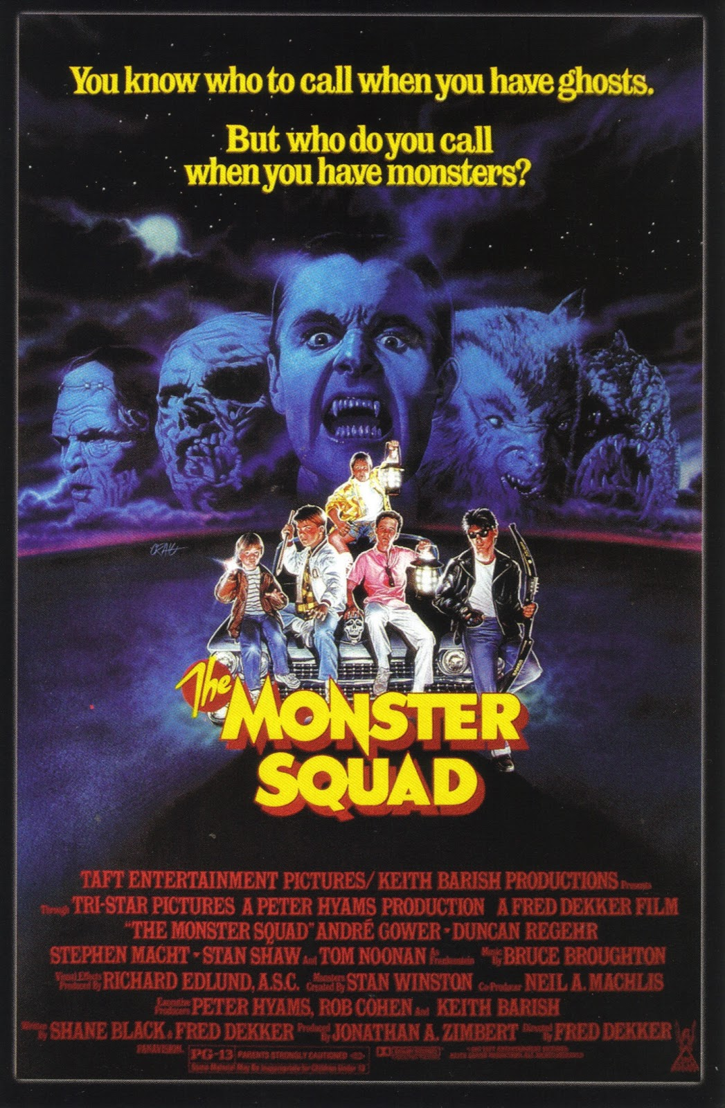 with the script of the long awaited remake of the monster squad still awaiting a green light from paramount lets take a look at the trailer