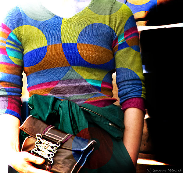 Psynopsis Self-Knitted Sweater DIY Clutch
