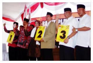 Nomor Urut dari Pilkada Magetan 2013
