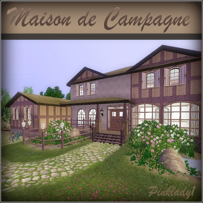 Sim innovations maison de campagne for Maison de campagne