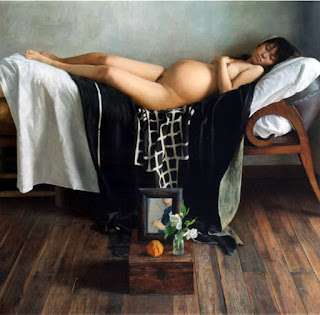 Oleo Desnudo Hiperrealismo Pintura